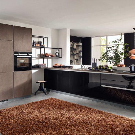 Дизайн-кухни-гостинной